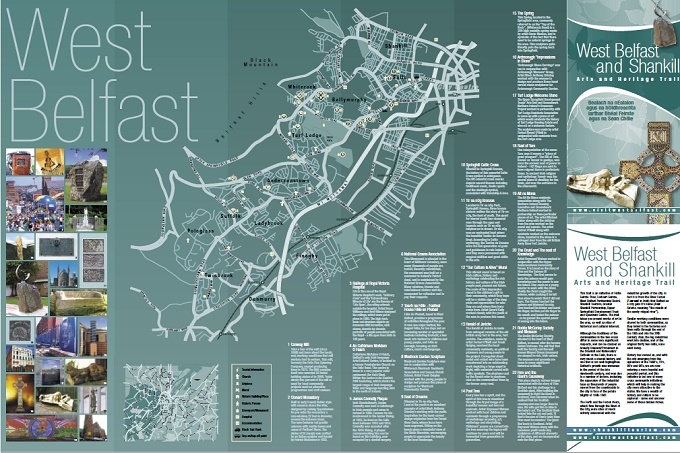 Arts Heritage Trail Map